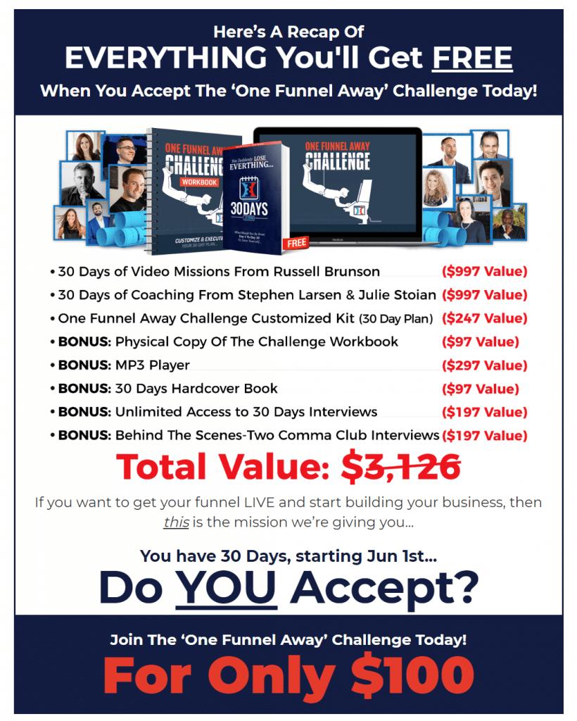 OFA 30 Day Challenge
