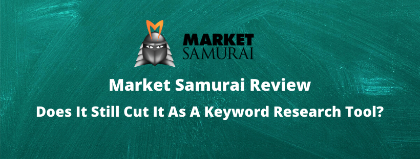 Market Samurai Keyword Research Tool Review