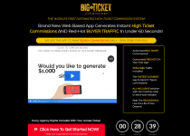 Big Ticket Commissions Sales Page