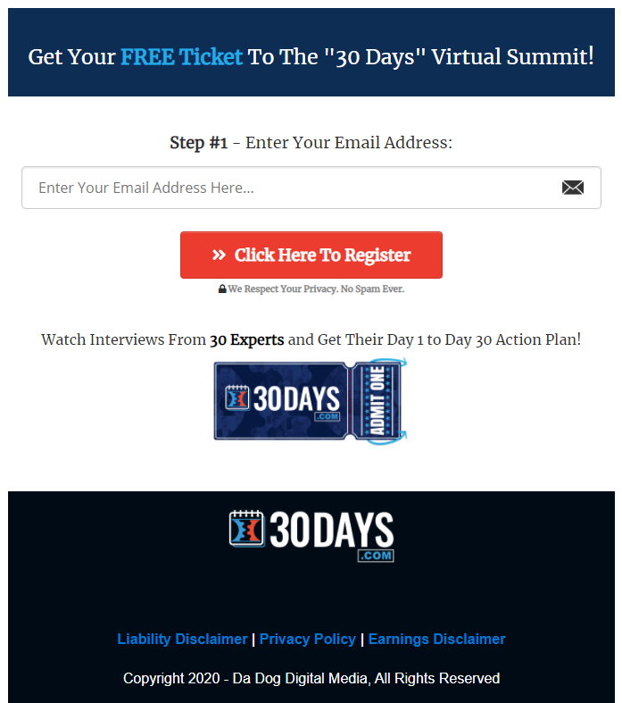 Join 30 Days